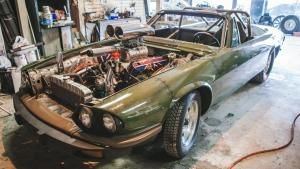 Jaguar Dragster photo