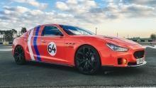 Le Mans Maserati show