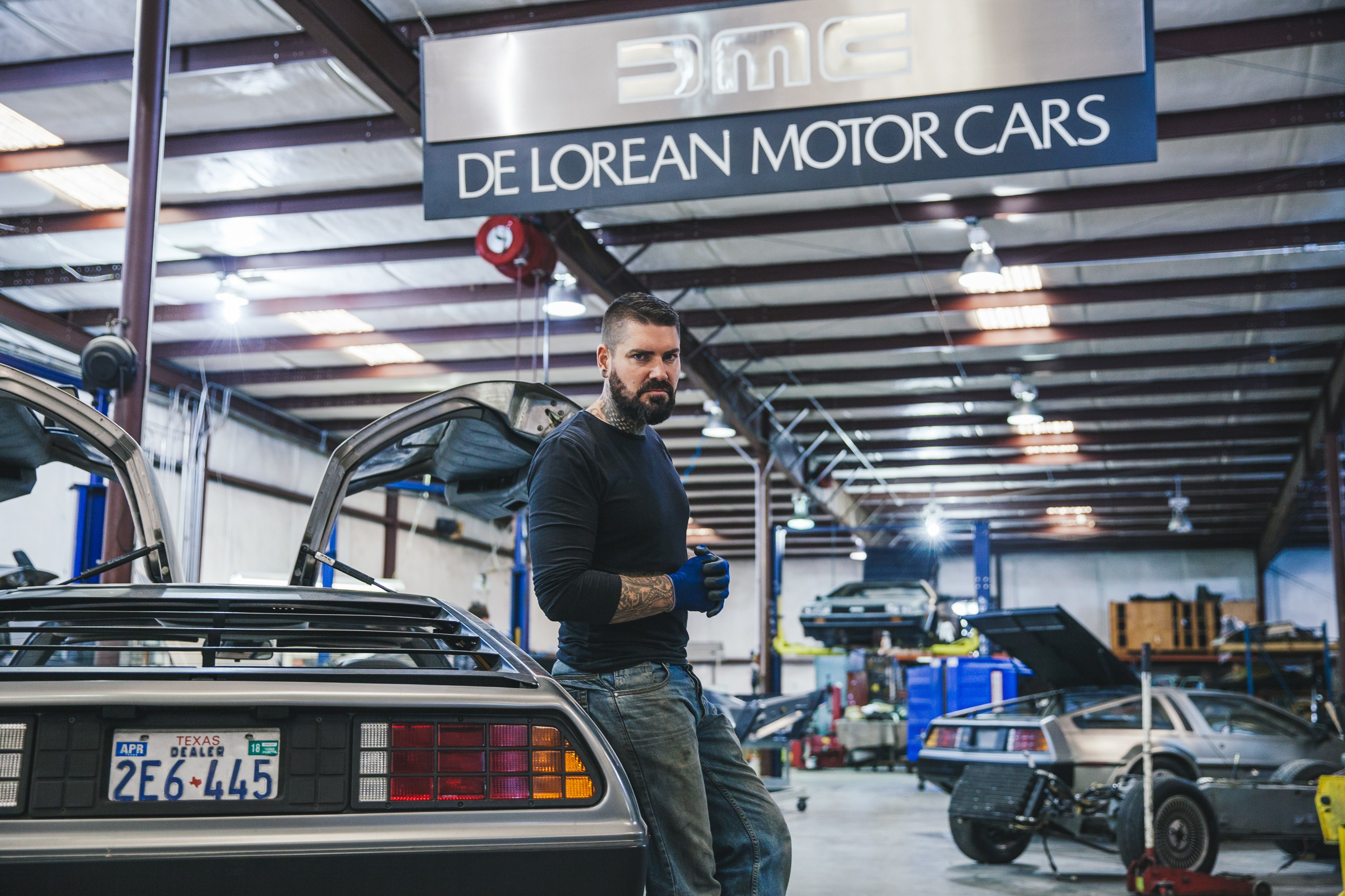 Delorean Reboot National Geographic Channel Abu Dhabi Photos Supercar Megabuild National Geographic Channel Abu Dhabi National Geographic Channel Middle East English