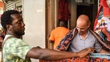 African Wedding Crashers show