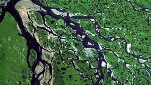 تحول الأرض لما هي عليه صورة