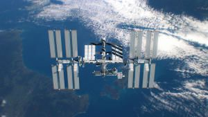 المحطة الفضائية الدولية صورة