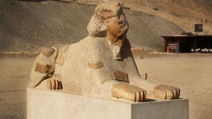 الملكة الفرعونية المحاربة صورة