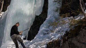 Frozen Nazi Escape photo
