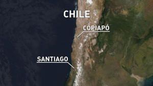 عملية الإنقاذ في المنجم التشيلي صورة