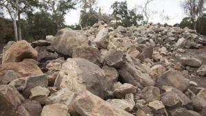 انهيال الوحول في كاليفورنيا صورة