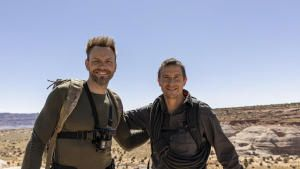 Joel McHale In Arizona Slot Canyons photo