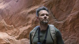 Joel McHale In Arizona Slot Canyons photo