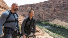Dave Bautista In Glen Canyon, Arizona show