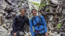 آليكس هونولد في جبال الألب السويسري برنامج