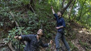 Zachary Quinto In The Panama Jungle photo