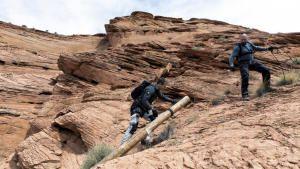 Dave Bautista In Glen Canyon, Arizona photo