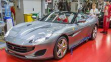 Ferrari Portofino show