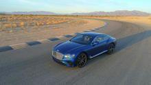 Bentley Continental Gt show