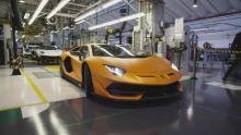 Lamborghini Aventador Svj show