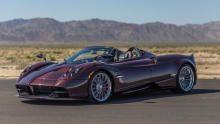 Pagani Huayra Roadster show