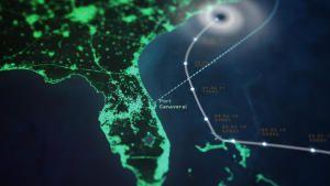 الإعصار دوريان صورة