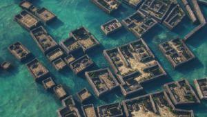 مدينة أشباح في المحيط الهادي صورة