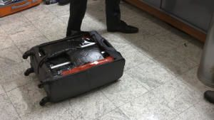Suspicious Suitcase photo