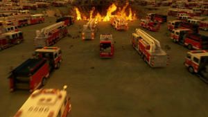 Space Fire Trucks photo