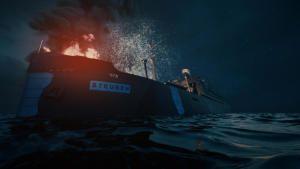 آخر حطام سفن الحرب العالمية الثانية صورة