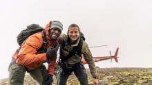 تيري كروز في  المرتفعات الآيسلندية برنامج