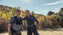 راين ويلسون في جبال لا سال في يوتا برنامج