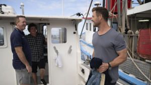 Shark Beach with Chris Hemsworth photo
