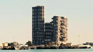 عملية هدم – مشروع ميناء بلازا صورة