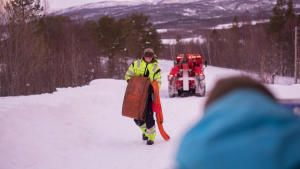 فريق إنقاذ الطرق الجليدية: مخاطر الطريق السريع صورة