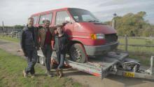 VW T4 Campervan show