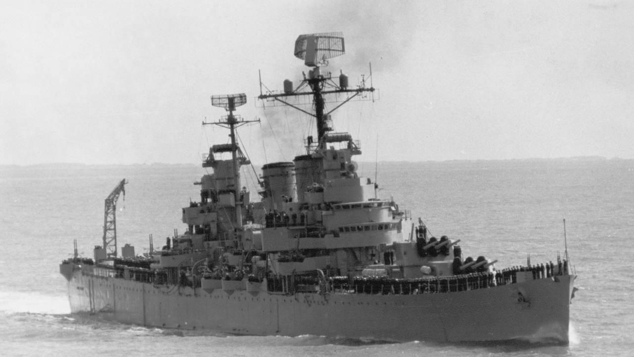 Kapal Penjelajah General Belgrano Kandas Sebelum Mengganas