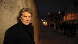 Il muro di Berlino con David Hasselhoff