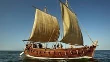 打造阿拉伯古帆船 Arab Treasure Ship 節目