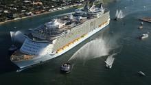 偉大工程巡禮: 海洋綠洲號 Megastructures: Oasis At Sea 節目