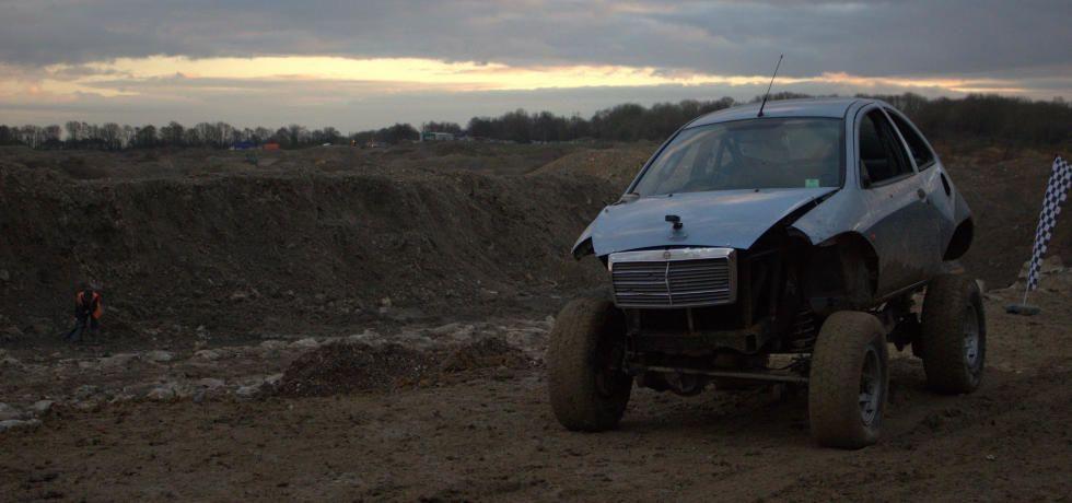 Scrapyard Super Car