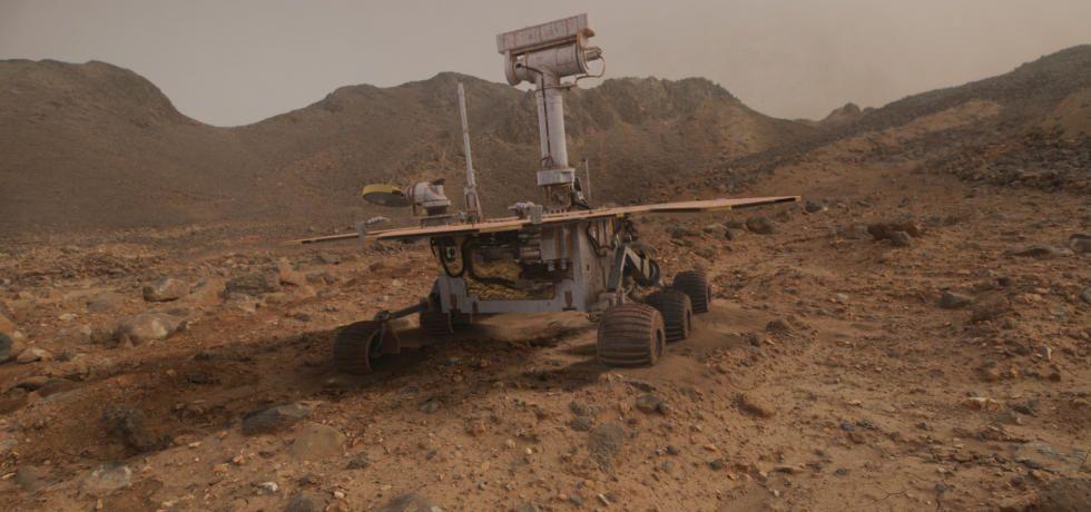 يوم على المريخ