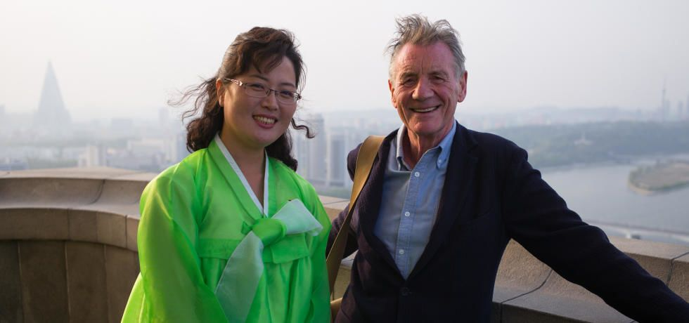 رحلة   مايكل   بالينز   في   كوريا   الشمالية