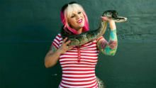 Snakes In The City: Snake Charmer show