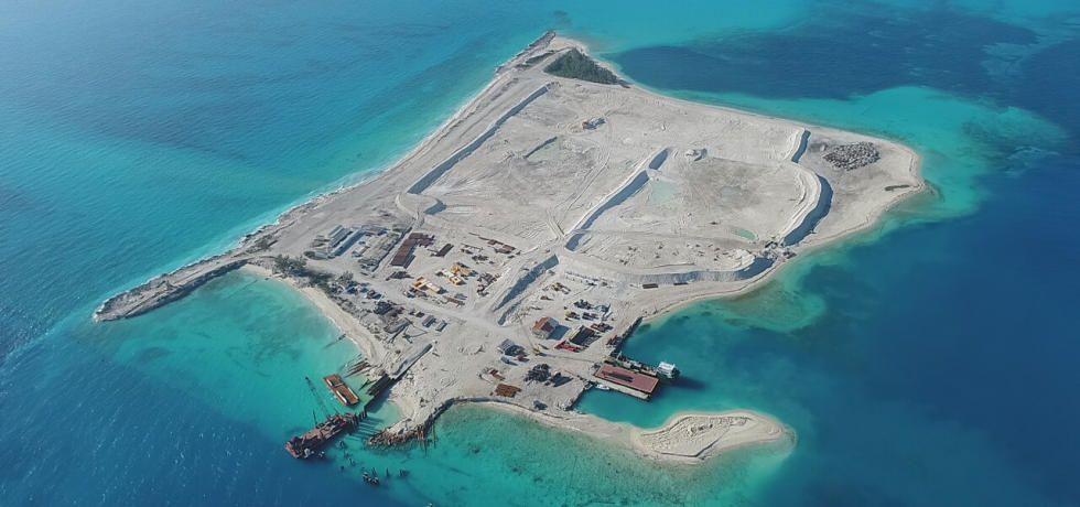 بناء جزيرة الفردوس