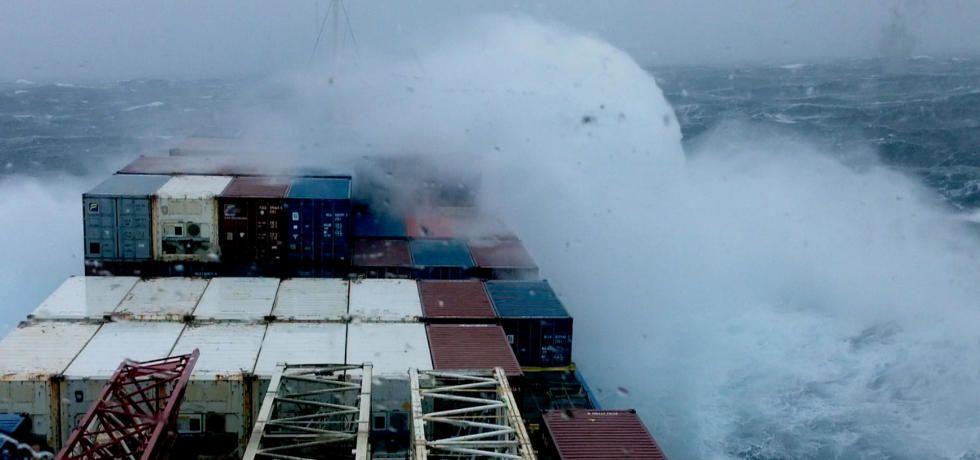 العاصفة الكارثية