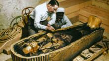 King Tut In Color show