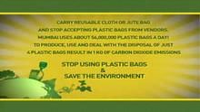 Stop Using Plastic Bags show