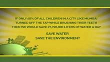 Save Water show
