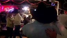 Dancing at a Cowboy Bar show