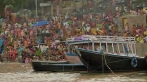 The Ganges at Varanasi photo