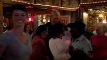 Dancing at a Cowboy Bar show