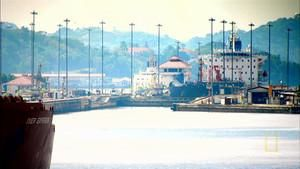 Panama Canal Locks photo