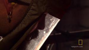 Welding A Saxon Sword photo