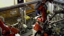 BMWX3 Robots show